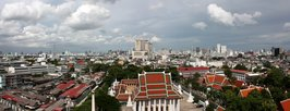 Bangkok - Golden Mountain lookout