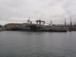 Tohle asi nebude tajna jaderna ponorka:-) Kdyz jsem ji vyfotil v pristavu, nebo jo?