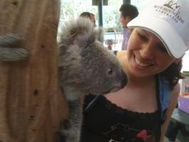 Dětátko Alča s klokaním mládětem:-)