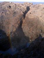 Kiama Blow Hole - zatím jen obrovská díra ve skále na pobřeží