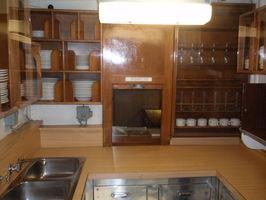 Kuchyňka, kde se vařilo pro důstojníky.