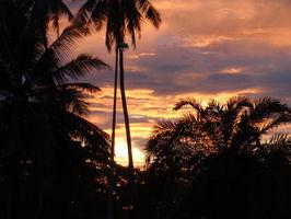Východ slunce v Kota Bharu ...