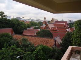 Takový jsme mohli mít výhled z pokoje, ale zvolili jsme hotel vedle o pulku levnejší, tak jsme to aspoň vyfotili:-)