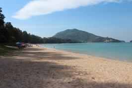 Phuket, Nai Yang - krasne misto, skoro bez turistu, protoze po tsunami tu jsou jen dva hotely ...